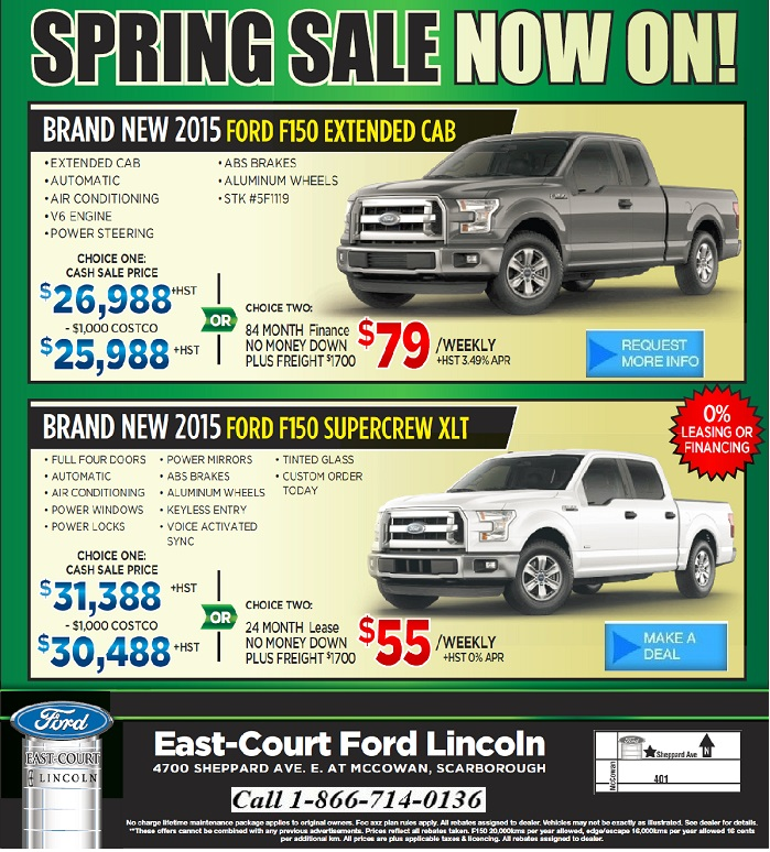Ford Edge Incentives April 2011